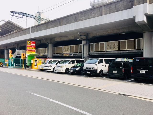 京急パーキング屋外駐車場。
